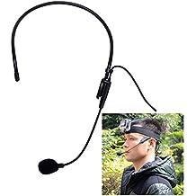 Fantaseal® Micrófono Deporte GoPro Mic de Deporte Micrófono externo A prueba de viento Micrófono estéreo de la cabeza para GoPro Hero 4 / 3 + / 3