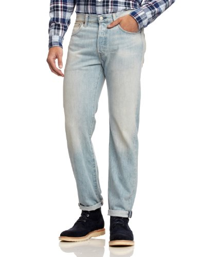 Levi's Herren Jeans 501 Original Fit Brown