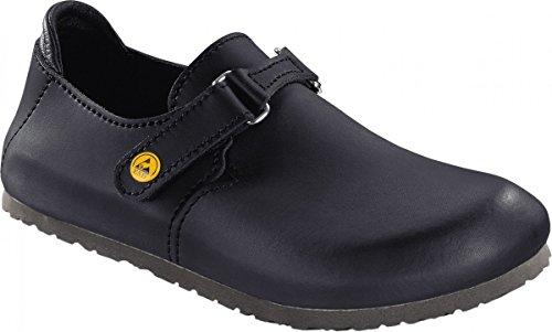 Birkenstock 583160-42-normales Schuh LINZ Antistatik/Naturleder normales Fußbett, Schwarz, Größe 42