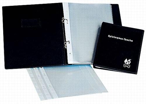 Preisvergleich Produktbild b+d Klarsichthülle für Spielerpasstasche DIN A6