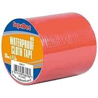 SupaDec Waterproof Cloth Tape 48mm x 4.5m Green / Black