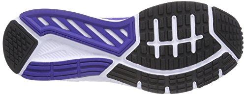 Nike Dart 11, sneaker homme Blanc - Weiß (White/Black-Prsn Violet-White 101)
