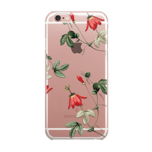 Blitz® ALOHA motifs housse de protection transparent TPE iPhone Flamingo Aloha M16 iPhone 5c fleurs M10