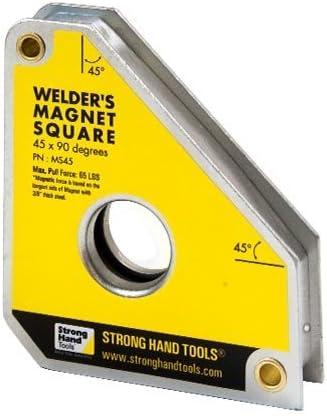 Strong Hand Tools, Tools, Tools, standard saldatura magnete quadrati MS45, multi angolo 45 ° – 90 °   Nuovo mercato    Usato in durabilità    Outlet Store  a318dc