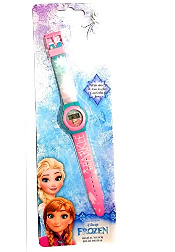 Orologio Disney, motivo: Frozen, Elsa e Anna