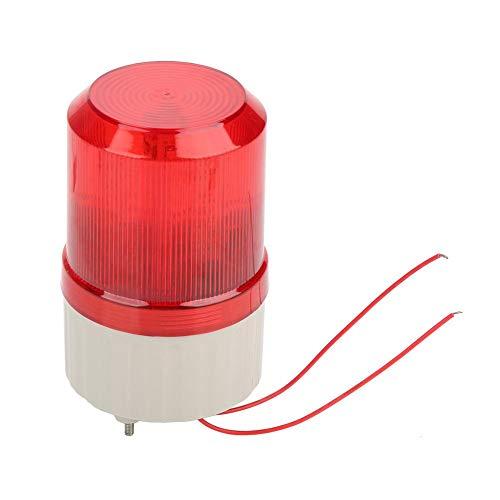 220V 2A rote LED Warnlichter Notfall LED Strobe Akustooptische Alarmanlage Rotierendes Licht (Licht Bars Strobe)