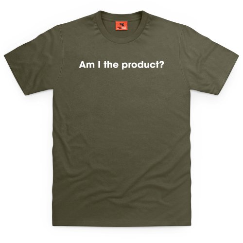 Am I The Product ? T-Shirt, Herren Olivgrn