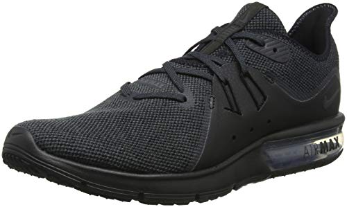 Nike Air Max Sequent 3, Scarpe Running Uomo, Nero (Black/Anthracite 010), 45.5 EU