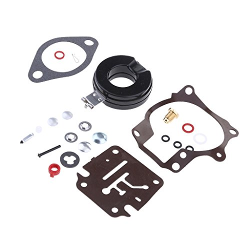 B Blesiya Aluminum Engine Carburetor Rebuild Kit Fits for Johnson Evinrude  20HP30HP 40HP 50HP Outboard Motor