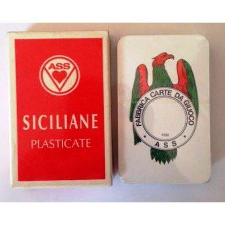 Carte Da Gioco Ass modello Siciliane 40 carte