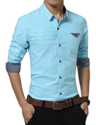 Zicac chemise manches longues homme