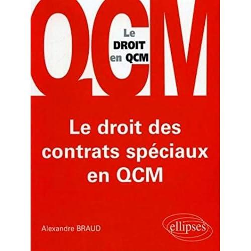 Le droit des contrats spéciaux en QCM