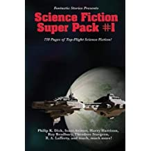 Fantastic Stories Presents: Science Fiction Super Pack #1 by Asimov, Issac, Bradbury, Ray, Dick, Philip K. (2014) Paperback