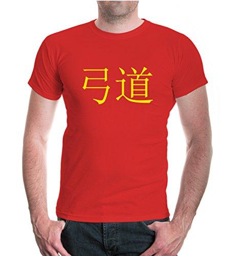 T-Shirt Kyudo-XXL-red-sunflower