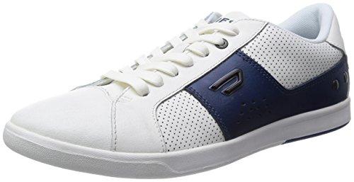 Diesel Gotcha Uomo Trainers Bianco Insigna Blu