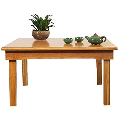pliable Petit Déjeuner de service Plateau de lit carré, table Plateau de lit avec pieds pliables, et plateau de petit déjeuner d'économie d'espace Table de bureau en bambou 45cm