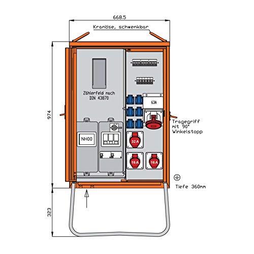 Walther Werke Anschlussverteilerschrank WAV0170R1