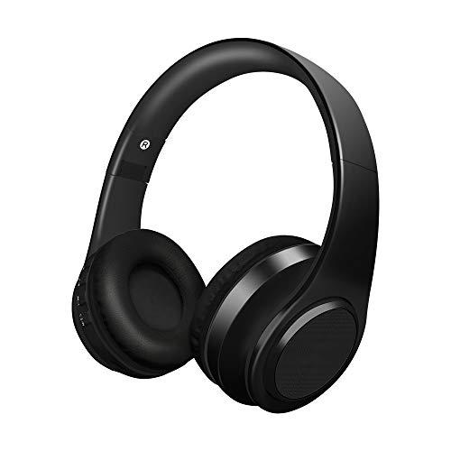 66fd7717485811 Alitoo Auriculares Inalámbricos Bluetooth con Micrófono, Cancelación de  Ruido Auriculares Plegables Sobre el oído,