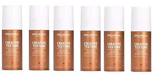 Goldwell Roughman Matt Styling Paste 6er Pack, (6x100 ml) -