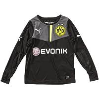 Puma - Camiseta de Portero del Borussia Dortmund para niño Negro Negro y Gris Talla:116