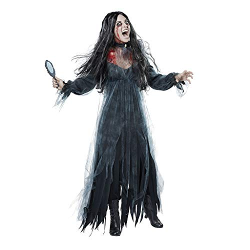 Kostüm Teufel Billig - bloatboy Frauen Halloween Kleid Set - Cosplay Horror Ghost Bride Zombie Blutiger Vampir Teufel Kostüm Bar Party Stage