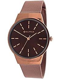 Reloj Bilyfer para Mujer con Correa en Bronce y Pantalla en Marron 3P568-M
