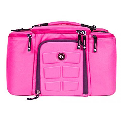 6 Pack Fitness Bag 3 Meal Management Innovator 300 - Pink / Purple