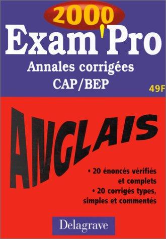 Annales corrigées anglais CAP et BEP par Pierre-Yves Nicollet