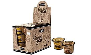 HELLMA Barista Selection Snack Cups, pr⤨sentoir en carton