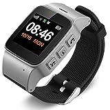 Losenlli Ajuste D99 Ancianos Reloj Inteligente GPS WiFi Tracker Sos Reloj Deportivo Reloj Anti-Perdido de Seguridad para iOS Android