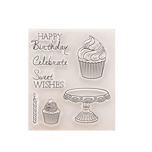Moonbrid Kuchen DIY Silikon Klar Stempel Blatt Scrapbooking Album Foto DIY Weihnachten Valentinstag Thanksgiving Geschenke