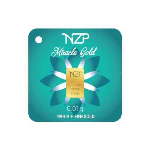 Nzp Goldbarren 0,01 Gramm NZP Goldbarren 0,01g, Feingehalt 999,9