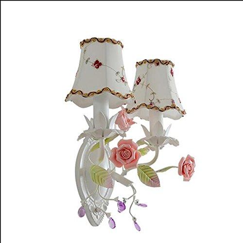 Ancien coršŠen princesse chambre de jardin lampe de mur de chevet de la chambre de fer personnalisšŠ balcon restaurant escalier couloir miroir couloir