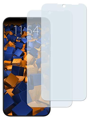 mumbi Schutzfolie kompatibel mit Huawei Honor 8S / Huawei Y5 2019 Folie klar, Bildschirmschutzfolie (2X)