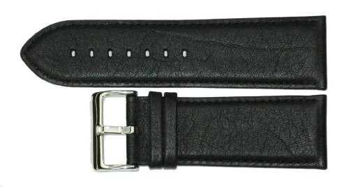 28mm-quality-black-leather-watch-strap-by-condor