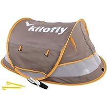 kilofly–Juego de para bebé (tamaño mediano) instantánea Pop Up UPF 35+ viaje playa tienda de campaña + 2pinzas