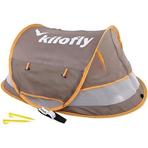 kilofly–Baby Toddler (Medium) UPF 35+ Instant Pop up da spiaggia tenda + 2ganci