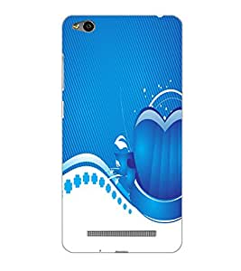 XIAOMI REDMI 3S HEART Back Cover by PRINTSWAG