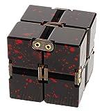 Nome prodotto: Cubetto rivetto infinitoMateriale: lega di alluminioDimensioni: pieghevole 40 * 40 * 40MM Open Spread 80 * 40 * 20MMPeso netto: 175 grammiDimensione della scatola di imballaggio: 123 * 87 * 31MMPeso della scatola: 60 grammiSe avete dom...