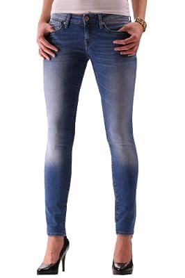 Mavi Women's SERENA; cloudy winter str Jeans - blue - 3