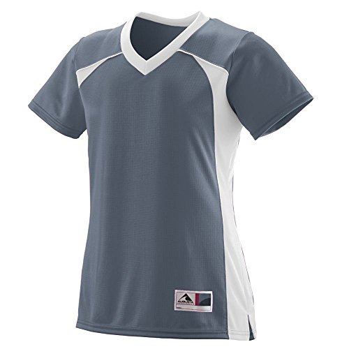 Augusta - T-shirt de sport - Femme Multicolore - Graphite/white
