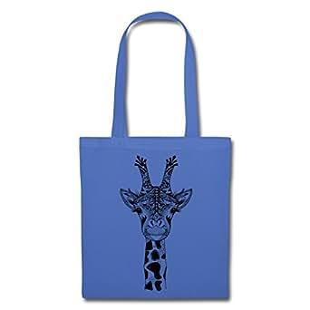 Bild nicht verfügbar. Keine Abbildung vorhanden für. Farbe: Spreadshirt  Giraffe Stoffbeutel ...