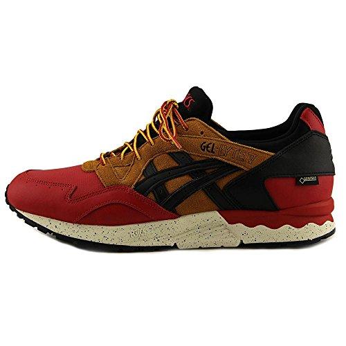 Asics Gel-Lyte V G-TX Cuir Chaussure de Course Red-Black