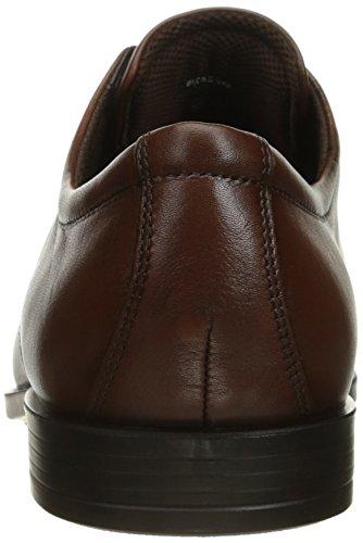 Ecco Edinburgh Lace Up Cuir Oxford mink (632654-01014)