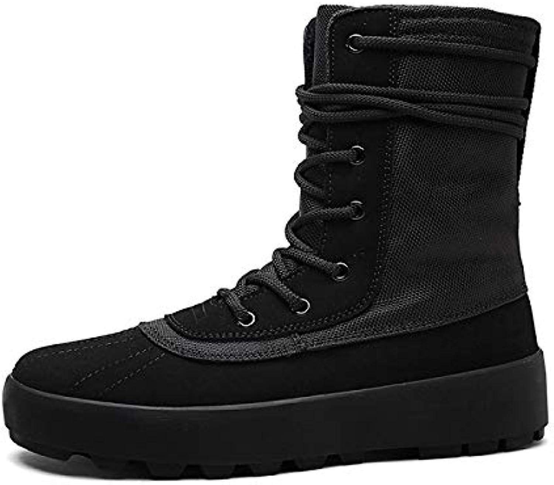 FHCGMX Winter stivali Men scarpe Male Comfortable Canvas Canvas Canvas stivali Footwear Warm Snow stivali | Usato in durabilità  dddea2