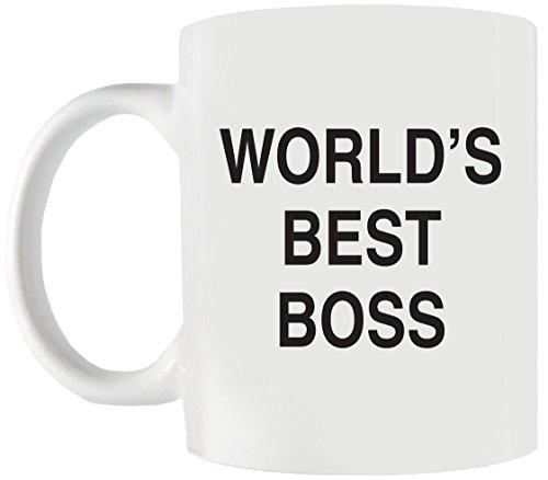World 's Best Boss Funny Kaffee Tasse-Das perfekte Büro Geschenk Idee für Boss, Dad, Mom auf Geburtstag, Weihnachten, Boss-Ideal für Arbeit Oder Home-Keramik 11Oz