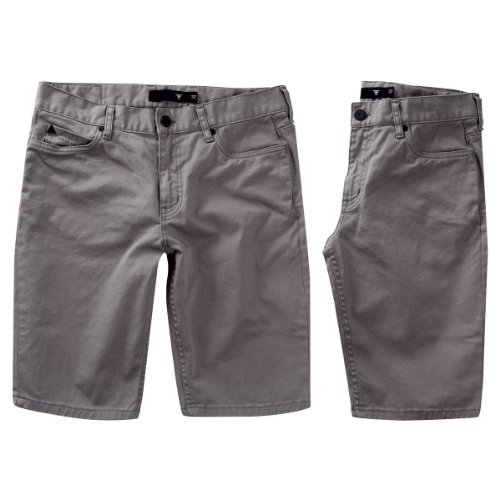 Fallen Herren Shorts Winslow Twill Cement Grey