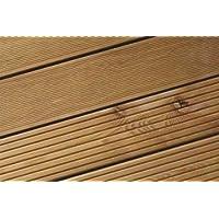 Woodstore Comercio Sociedad silhs2314315 Alerce Siberiano Chapa estriada de madera DM, fina/gruesa,