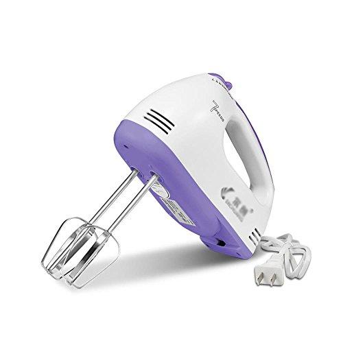 ALUK-Haushalt-Elektrische-Eggbeater-Hand-Held-Backen-Mini-Mixer-farbe-Lila