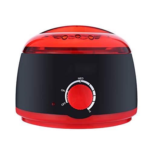 Wax warm Calentador Portable de la Cera 500CC, Tres Temperatura Ajustable, Cacerola de Aluminio Desmontable...